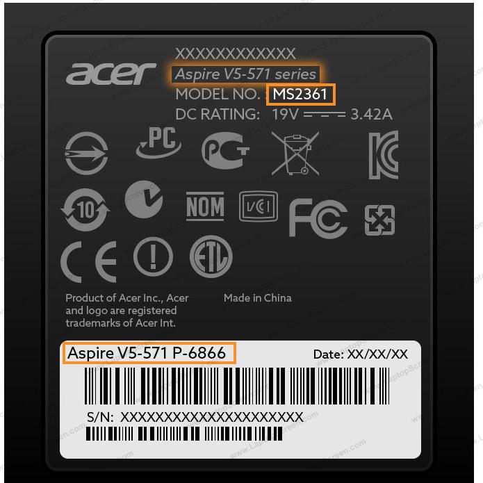 Acer model