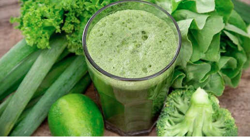 Slow juicers can juice leafy greens and nuts