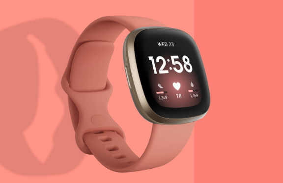 The Fitbit Versa 3 can be charged quicker